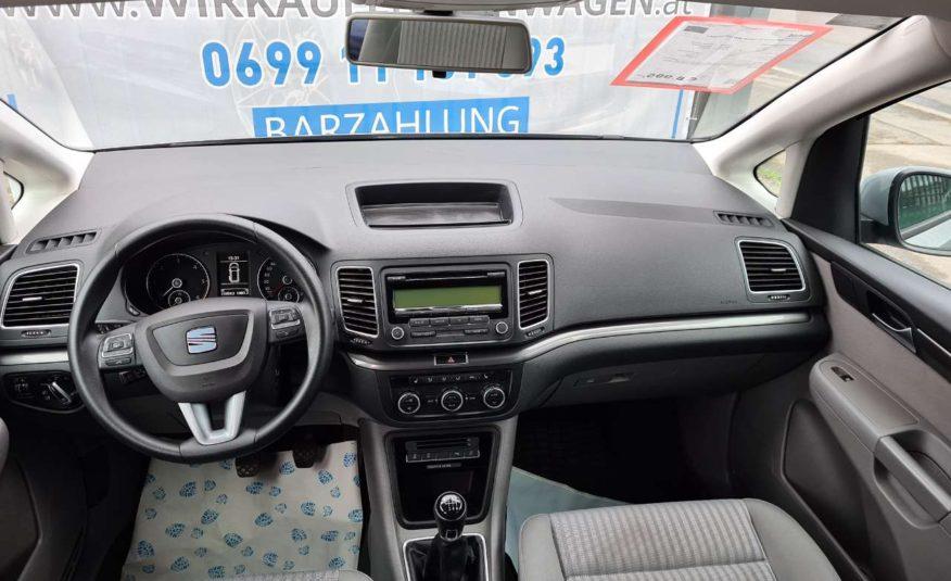 SEAT Alhambra Ref.2,0TDI 4WD*GRATIS Pi-SERVICE*AUTOBANH VIGNETTE